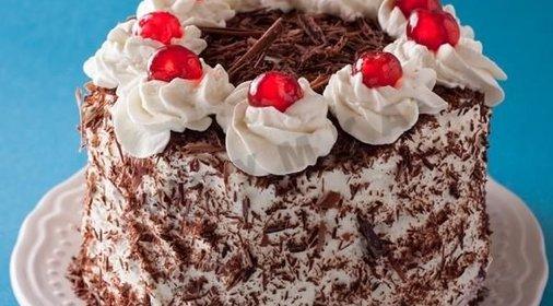 несложный рецепт торт черный лес