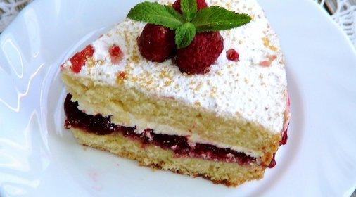 Торт виктория в домашних условиях