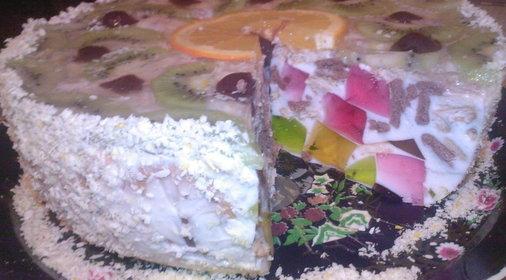 Фото большого красивого торта