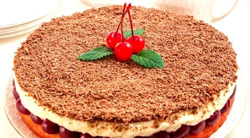 пошагово пирога фото вишневого рецепт с