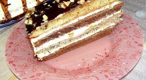 Торт лакомка рецепт с фото пошагово