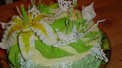 Женский каприз торт десерт фото