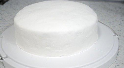 Молочная мастика в домашних условиях фото и торт с мастикой