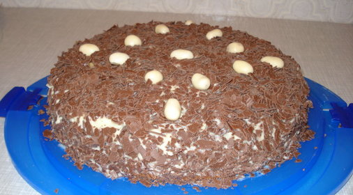 торт мороженое с ирисками рецепт с фото