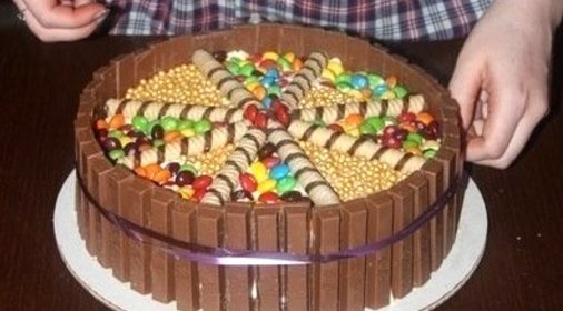 Как быстр сделать торт