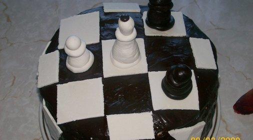 шахматный торт февраля фото рецепт
