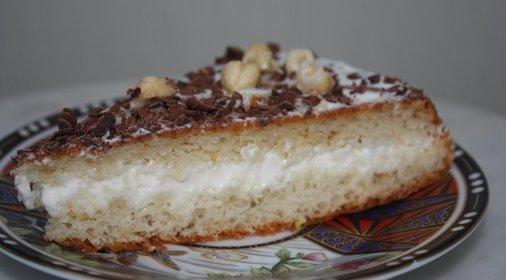 Сметанный торт орехами рецепт фото