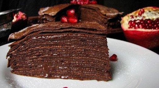 Рецепты шоколадных тортов-фото