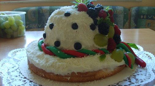 торт шляпка рецепт с фото